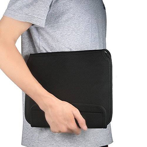 easyacc-travel-cable-organizer-case-with-handle-for-electronics-accessories-wrap-bag-superior-protection-ultrabook-laptop-sleeve-bag-case-for-89-97-10-101-inch-tablet-such-as-apple-ipad-air-2-ipad-2341