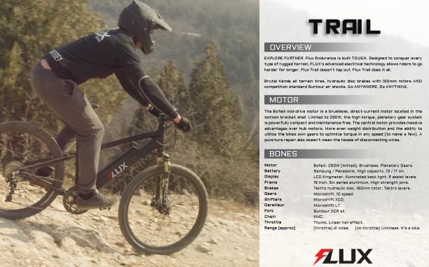 Trail spec sheet